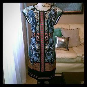 11 By Boris Bidjan Saberi Dresses & Skirts - Green, orange and black dress
