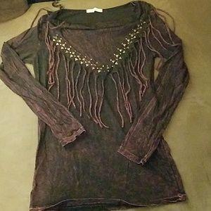 Boheme Tops - Fringed shirt