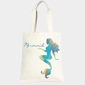 Mermaid Canvas Eco Tote Bag