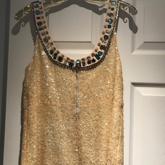 Chloe Tops - Chloe (authentic) sequin and beaded tank