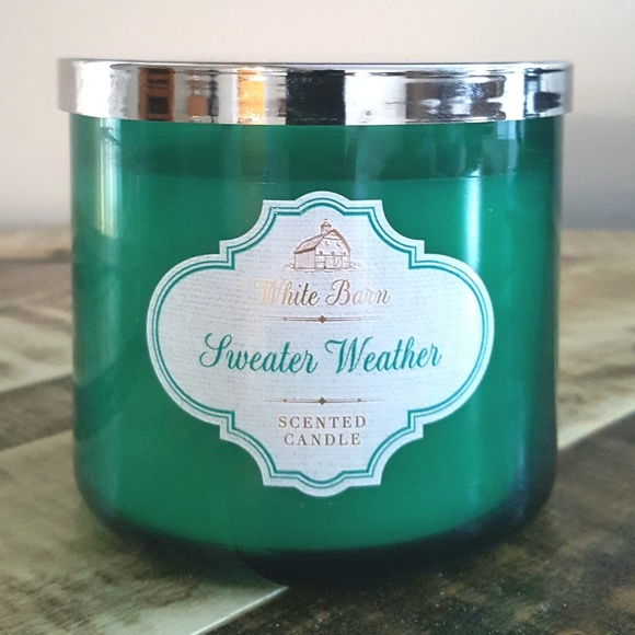 Bath And Body Works Other Bath Body Works Sweater Weather 3 Wick