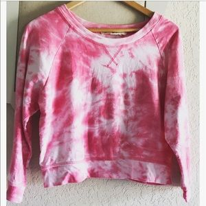 Derek Heart Tops - Derek ❤️ Heart Tye Dye Crop Top