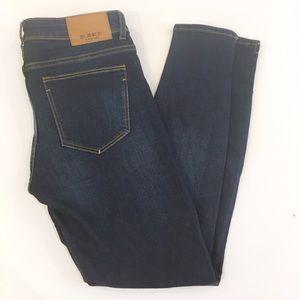 Zara Denim - Zara Basic dark wash ankle jeans