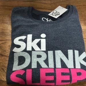 Chaser Tops - Chaser soft sweatshirt ski drink sleep