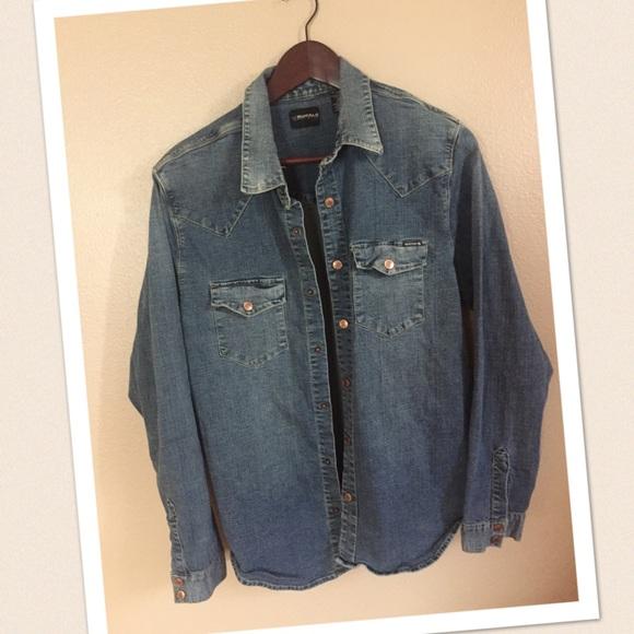 d2f8692992 Buffalo David Bitton Other - Men s buffalo David bitton jean shirt