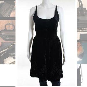 Emporio Armani Tops - Emporio Armani black velvet sleeveless blouse