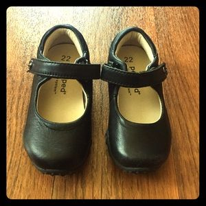pediped Other - NWOTPediped softest black leather Mary-Janes; sz22