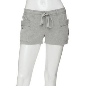 Haute Hippie Pants - Haute Hippie Cargo Pocket Jersey Shorts
