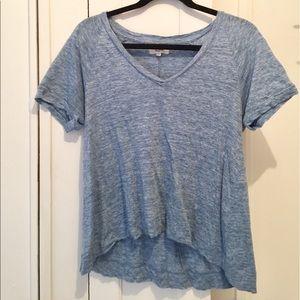 Madewell - V-Neck Linen T-Shirt