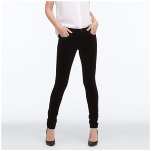 AG Adriano Goldschmied Pants - AG Adriano Goldschmied Super Skinny Velour Legging
