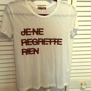 rag and bone tee size small