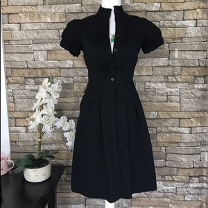 The Limited Dresses & Skirts - The Limited Black Button Down Career Dress