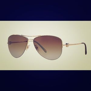 Tiffany & Co. Accessories - Tiffany & Co. Polarized Aviator Sunglasses