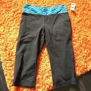 Material Girl Pants - Material Girl crop leggings.  Large. Nwt