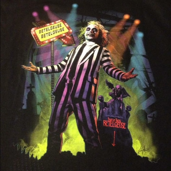 Beetlejuice limited edition Fright-Rags t-shirt