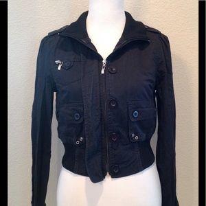 Jackets & Blazers - Edgy Bomber Jacket