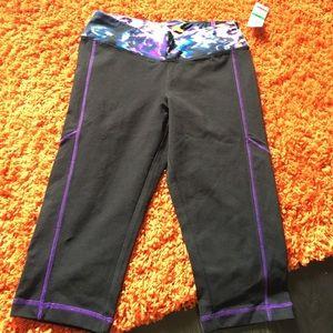 Material Girl Pants - Material Girl crop leggings Nwt large