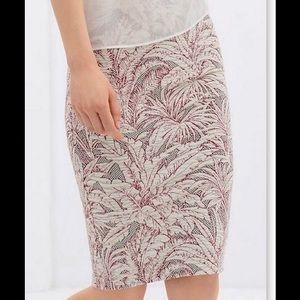 ❤ Zara midi skirt
