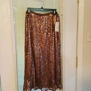Reba Dresses & Skirts - Reba new sequin skirt XL