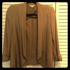 Helmut Lang taupe/tan blazer size 2