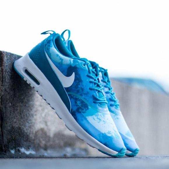 air max thea blue print