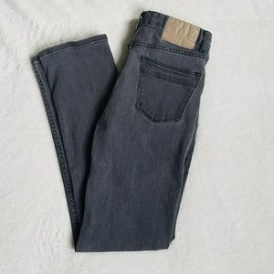 Robert Geller Other - Robert Geller Five Four Gray Straight Leg Jeans