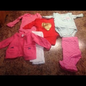 Carter's Other - Newborn lot