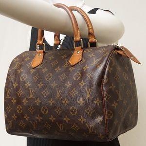 Louis Vuitton Handbags - AUTH LOUIS VUITTON SPEEDY 30 SATCHEL