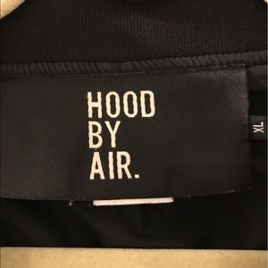 Hood by Air Other - Hood by Air. Black woven bomber jacket.