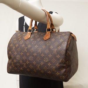 Louis Vuitton Handbags - AUTH LOUIS VUITTON SPEEDY 35