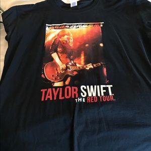 Tops - Taylor Swift Red Tour concert shirt