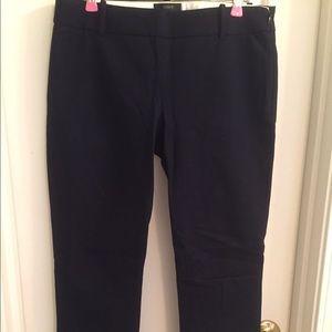J. Crew Minnie Navy Blue Pants