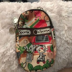 LeSportsac Handbags - Tokidoki Lesportsac change 2 phone bag cigarette