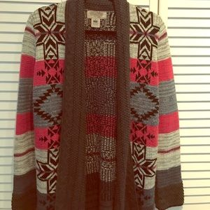 Oversized cardigan from Urban Outfitters