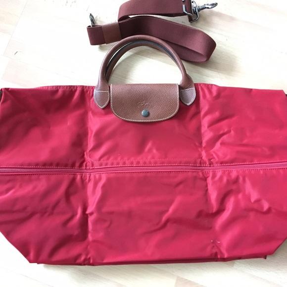 Longchamp Handbags - Longchamp Le Pliage Expandable Travel Weekender da39133f74