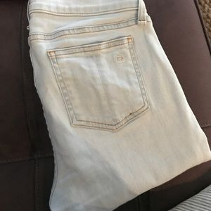 rag and bone White Water Skinny sz 27