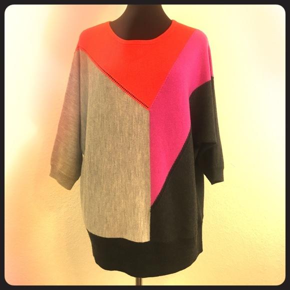 Trina Turk Sweaters - Trina Turk Color Block Sweater