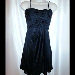 Black Spaghetti Strap Dress.