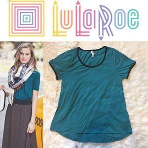 LuLaRoe Tops - Lularoe Classic T Tee Shirt T-Shirt Teal Green