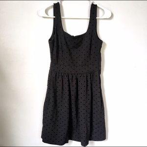 Madewell Black Polka Dot Dress