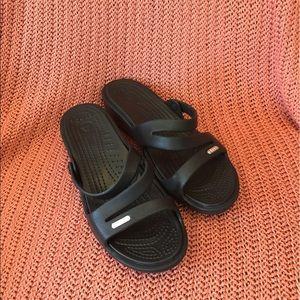 Women's Size 7 Crocs Slide Sandals