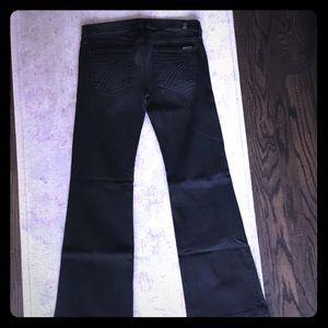 7 For All Mankind Denim - 7 for all Mankind Black Dojo jeans
