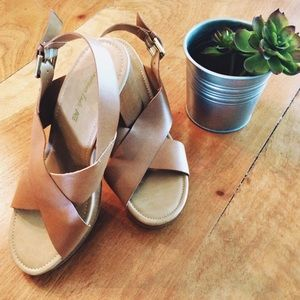 American Eagle by Payless Shoes - American Eagle Platform Heel Sandals