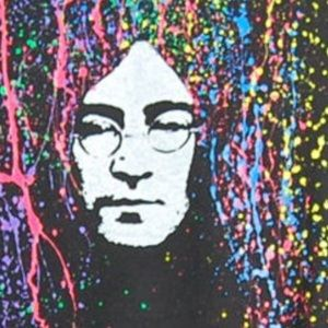 ALSO FOR WOMEN, HANDMADE Other - 🆕🌹HANDMADE HAND PAINTED TEE OF JOHN LENNON, XL