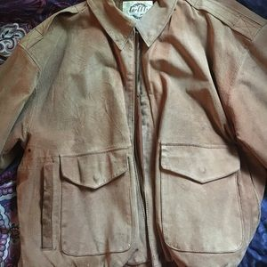 Other - 100% genuine leather jacket