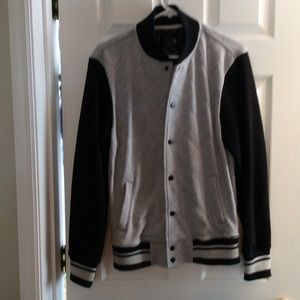 On The Byas Other - Awesome sweatshirt jacket! Snap front with pockets