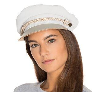 Brixton Accessories - Brixton Kayla Cap in Cream