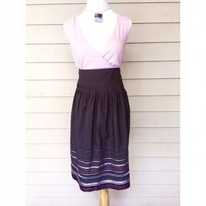 Apostrophe Dresses & Skirts - Apostrophe Pleated Ribbon Skirt