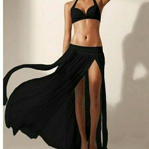 Women dress Casual sexy  beach maxidress long skir