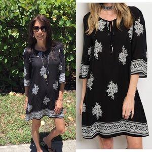 Dresses & Skirts - 3/4 Sleeve Tunic Dress